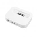 แท่นชาร์จ iPhone 4/4S - สีขาว