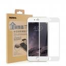 ฟิล์มกระจกนิรภัย IPhone 6 - สีขาว (แบบเต็มจอ)