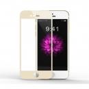 กระจกนิรภัยสีเต็มจอ สำหรับ iphone6 plus - สีทอง