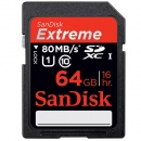 SD Extreme Plus Class 10 - 64GB