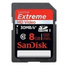 SD Extreme Plus Class 10 - 8GB