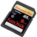 SD Extreme Pro Class 10 - 8GB