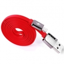 Cable Charger for iPhone5/5s (1M,หอม)-REMAX (Red)