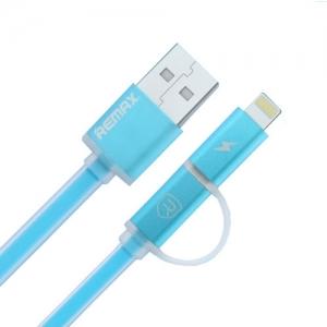 สายชาร์จ iPhone (AURORA) 1m. - สีฟ้า