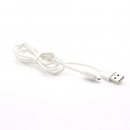Cable Charger for iPhone5/5s (1M, สายกลม)- White