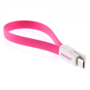 Cable USB for SS 23CM (Pink) - REMAX สายแบน