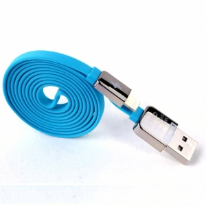 Cable Charger for iPhone5/5s (1M,หอม) - Blue