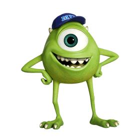 สติ๊กเกอร์ไลน์ชุด Monster University