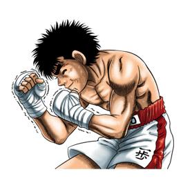 สติ๊กเกอร์ไลน์ชุด Fighting Spirit
