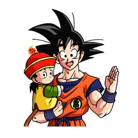 สติ๊กเกอร์ไลน์ชุด Dragon Ball Z - Saiyan & Frieza Saga