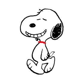 สติ๊กเกอร์ไลน์ชุด Snoopy
