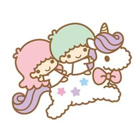 สติ๊กเกอร์ไลน์ชุด Little Twin Stars (Twinkle Days ver.)