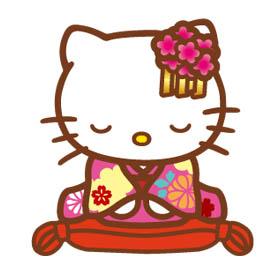 สติ๊กเกอร์ไลน์ชุด Hello Kitty Around the World