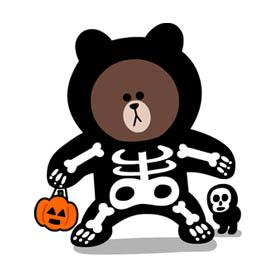 สติ๊กเกอร์ไลน์ชุด Line Halloween Special