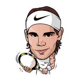 สติ๊กเกอร์ไลน์ชุด Rafa Nadal
