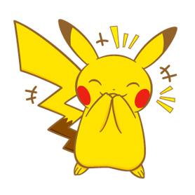 สติ๊กเกอร์ไลน์ชุด Pokemon Part 2