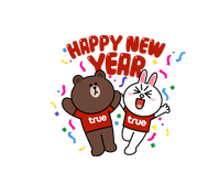 Brown & Cony Happy New Year