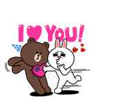 Brown & Cony I Love You