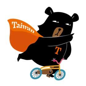สติ๊กเกอร์ไลน์ชุด Oh! Bear Taiwan Radio Station