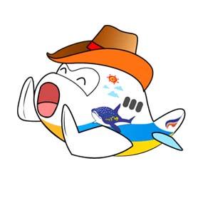 สติ๊กเกอร์ไลน์ชุด Fly, Fly, Fly With Me, Bangkok Airways
