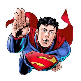 สติ๊กเกอร์ไลน์ชุด Superman