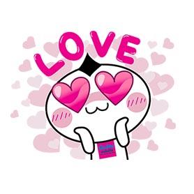 สติ๊กเกอร์ไลน์ชุด Rakyim in LOVE