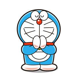 สติ๊กเกอร์ไลน์ชุด Doraemon in Thailand