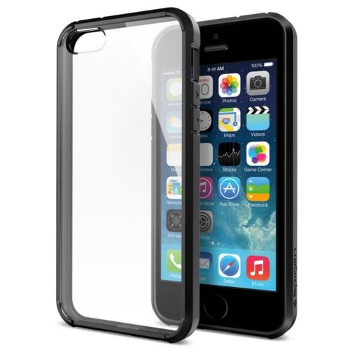 สติ๊กเกอร์ไลน์ชุด iPhone 5S/5 Ultra Hybrid สีดำ