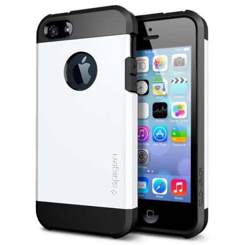 สติ๊กเกอร์ไลน์ชุด iPhone5S/5 Case Tough Armor (Smooth White)