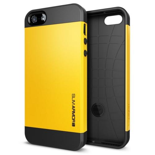 สติ๊กเกอร์ไลน์ชุด iPhone5S/5 Case Slim Armor S (Reventon Yellow)