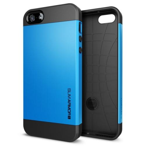 สติ๊กเกอร์ไลน์ชุด iPhone5S/5 Case Slim Armor S (Dodger Blue)