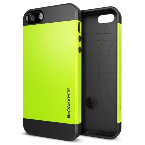 สติ๊กเกอร์ไลน์ชุด iPhone5S/5 Case Slim Armor S (Lime)