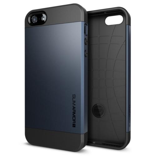 สติ๊กเกอร์ไลน์ชุด iPhone5S/5 Case Slim Armor S (Metal Slate)