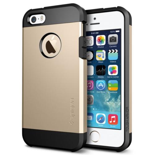 สติ๊กเกอร์ไลน์ชุด iPhone5S/5 Case Tough Armor (Champagne Gold)