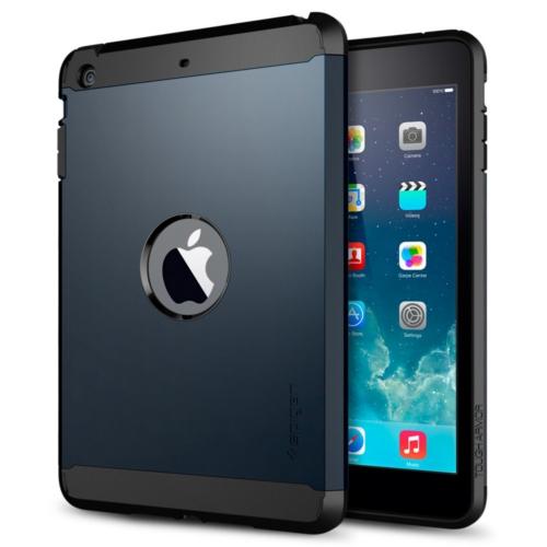 สติ๊กเกอร์ไลน์ชุด iPad Mini Retina Case Tough Armor (Metal Slate)