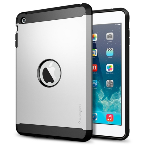 สติ๊กเกอร์ไลน์ชุด iPad Mini Retina Case Tough Armor (Satin Silver)