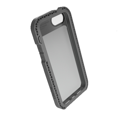 สติ๊กเกอร์ไลน์ชุด iPhone 5S/5 SEISMIK สีเทา