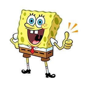 สติ๊กเกอร์ไลน์ชุด SpongBob SquarePants