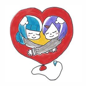 สติ๊กเกอร์ไลน์ชุด March 11 Stickers: Children Offer Hope