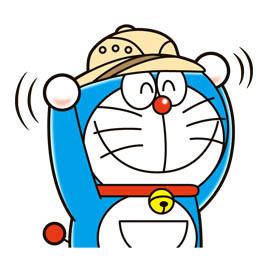 สติ๊กเกอร์ไลน์ชุด Doraemon the Adventure
