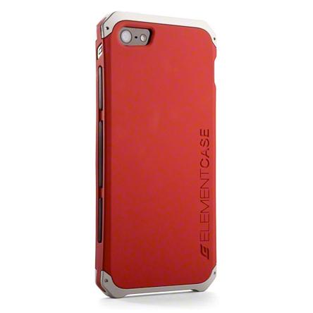 สติ๊กเกอร์ไลน์ชุด iPhone5S/5 Element Case Solace สีแดง