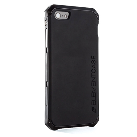 สติ๊กเกอร์ไลน์ชุด iPhone5S/5 Element Case Solace สีดำ