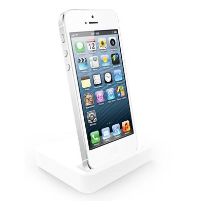 สติ๊กเกอร์ไลน์ชุด แท่นวางสีขาว iPhone 5/5S
