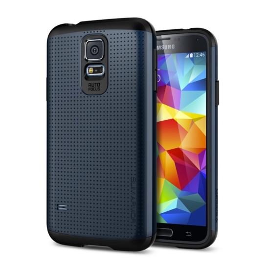 สติ๊กเกอร์ไลน์ชุด Galaxy S5 Case Slim Armor : Metal Slate