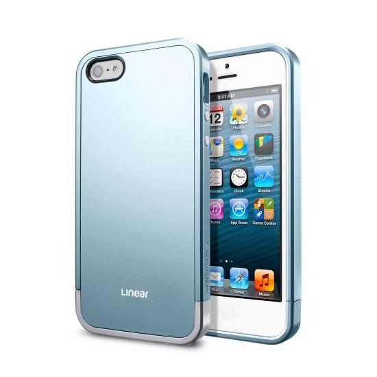 สติ๊กเกอร์ไลน์ชุด iPhone5S/5 Case Linear Metal