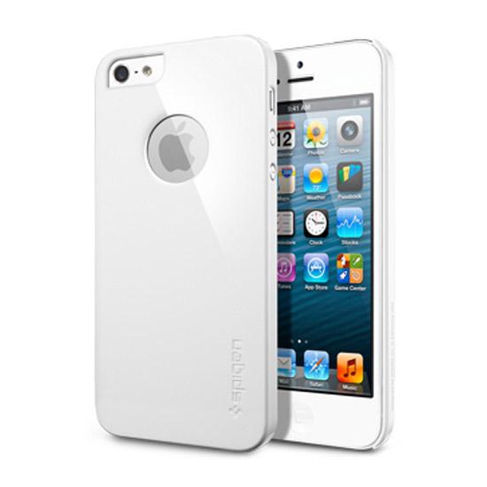 สติ๊กเกอร์ไลน์ชุด iPhone5S/5 Case Ultra Thin Air A (Infinity White)