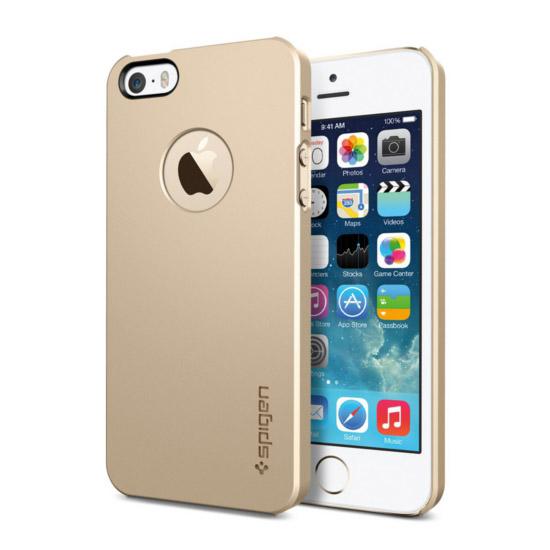 สติ๊กเกอร์ไลน์ชุด iPhone5S/5 Case Ultra Thin Air A (Champagne Gold)