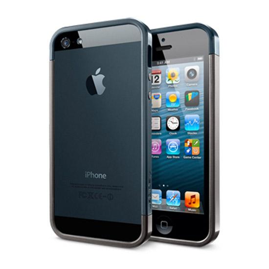 สติ๊กเกอร์ไลน์ชุด iPhone5S/5 Case Linear EX Slim Metal Series (Gun M