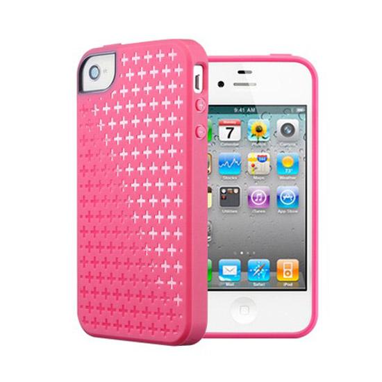 สติ๊กเกอร์ไลน์ชุด SPIGEN SGP iPhone 4 / 4S Case Modello Series (Ital