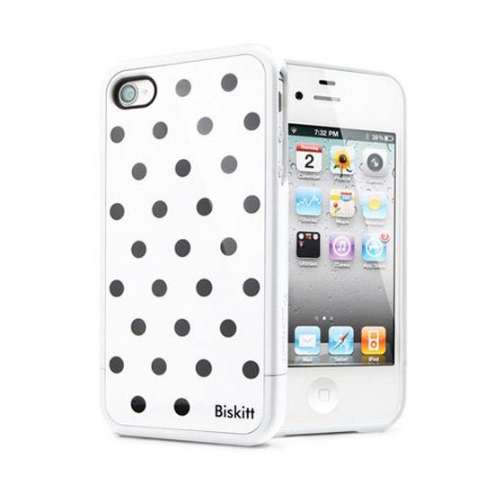 สติ๊กเกอร์ไลน์ชุด SPIGEN SGP iPhone 4 / 4S Case Linear Biskitt Serie